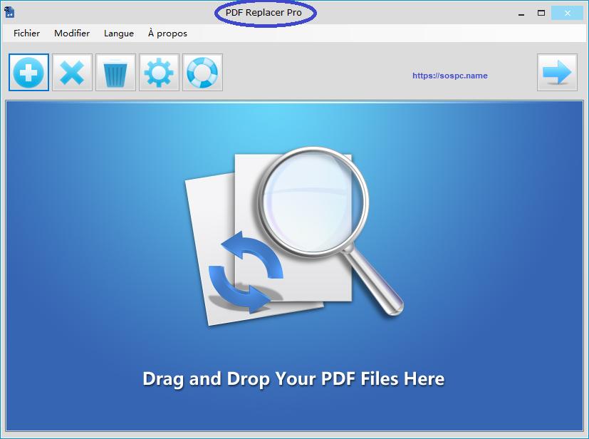 PDF Replacer modifiez ou remplacez certains mots de vos PDF