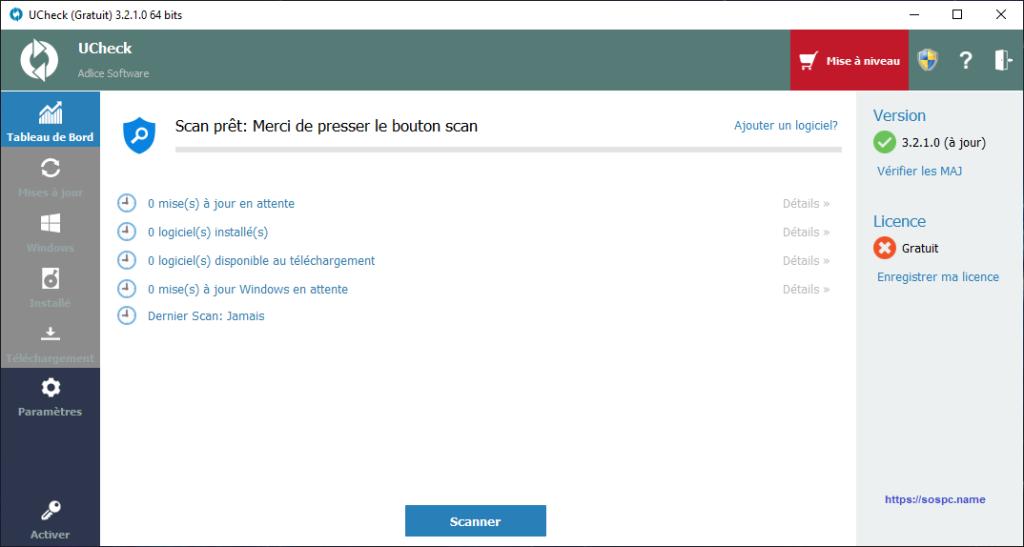 Ucheck un logiciel testé par trois contributeurs d'Sospc.name