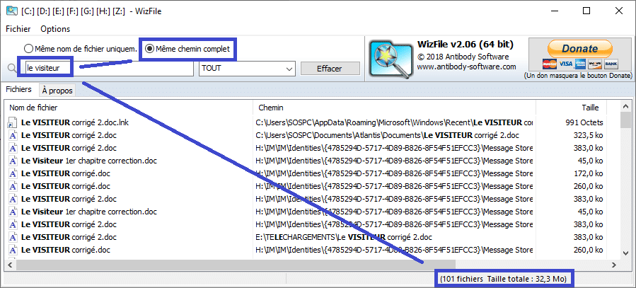 WizFilE tutoriel