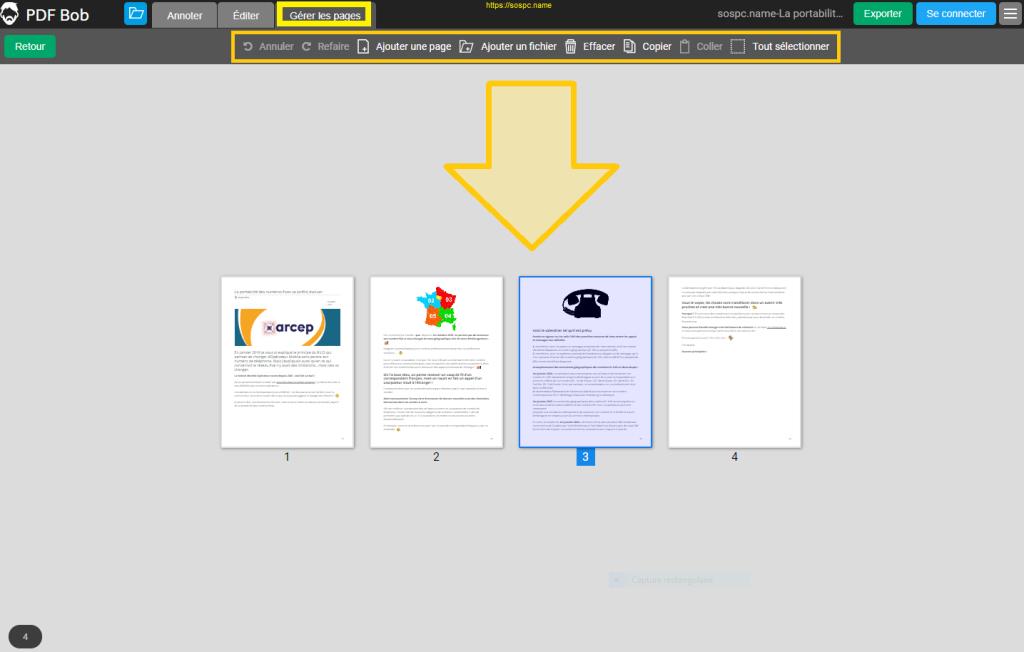 Éditez vos documents PDF grâce à PDF Bob.
