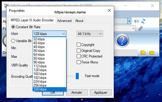 1AV Sound Recorder version française Tutoriel pas à pas.