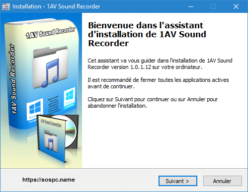 1AV Sound Recorder version française