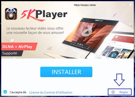 5KPlayer lecteur multimédia tutoriel