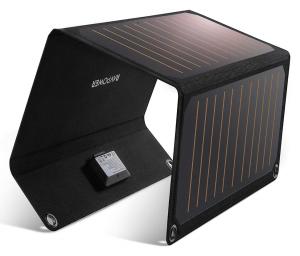 En test ce mois-ci : un Chargeur à Panneaux Solaires avec 2 Ports USB.