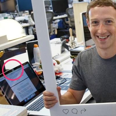 Mark Zuckerberg le PDG de Facebook :