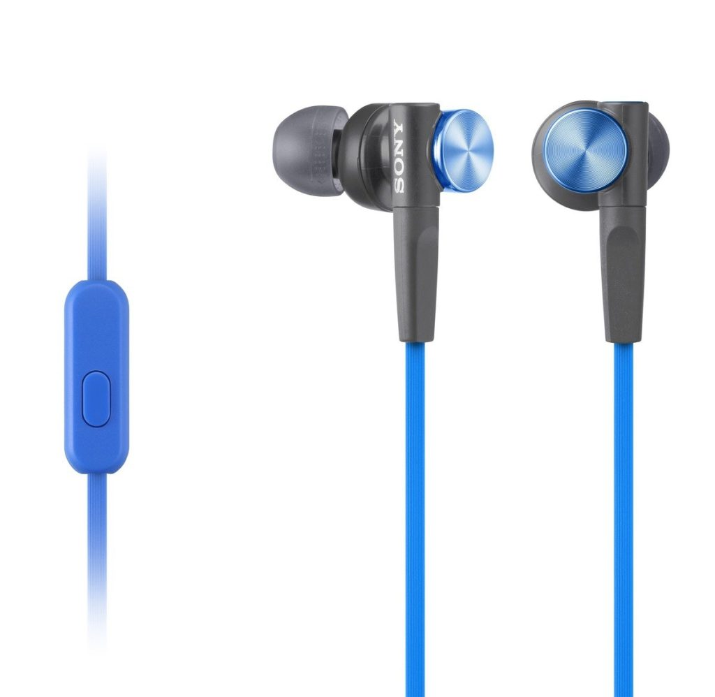 Test Écouteurs intra-auriculaires Sony