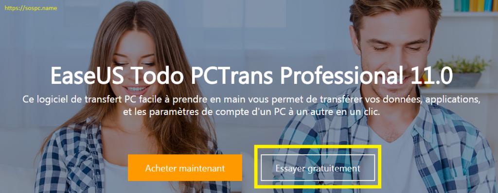 EaseUS Todo PCTrans 11 télécharger