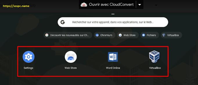 Un système d'exploitation différent et gratuit : Chrome OS.