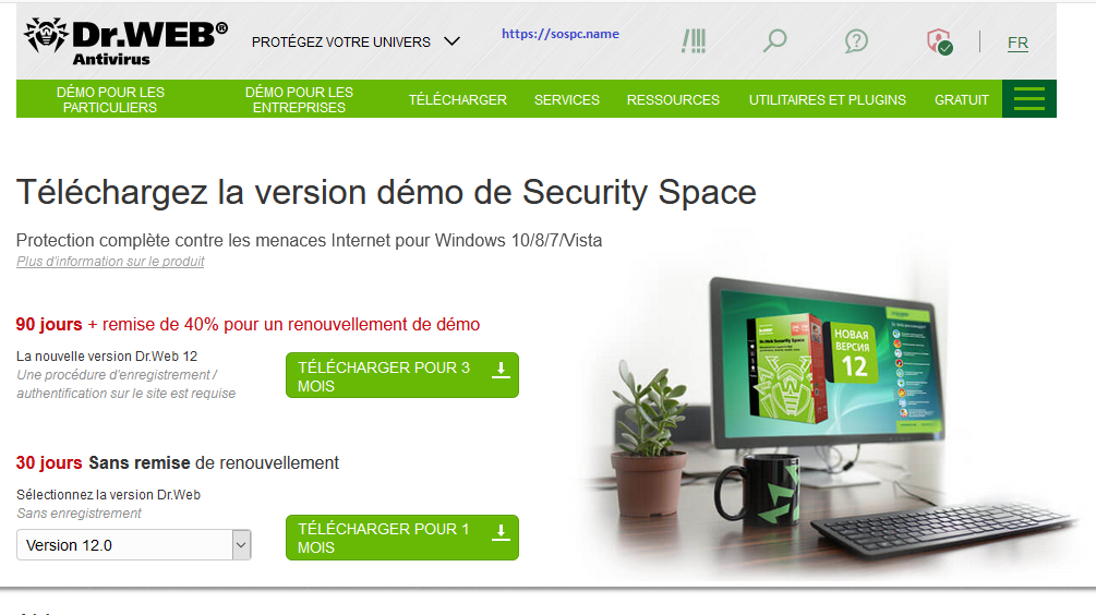 Tutoriel antivirus Dr.Web