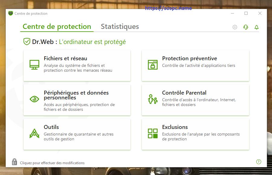 Présentation de la solution antivirus Dr.Web