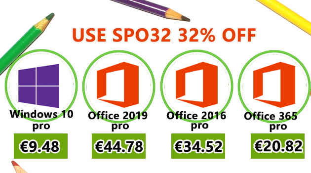 Special Black Friday : Windows 10 Pro @ 9.48€