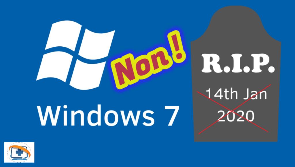 Obtenir les mises à jour pour Windows 7 après le 14 janvier 2020: la solution ! Par Azamos.