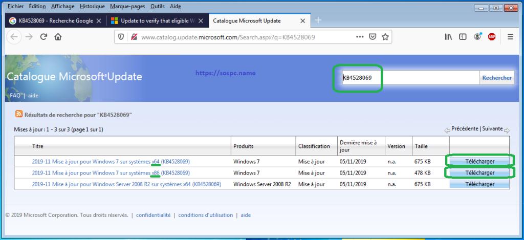 Obtenir les mises à jour pour Windows 7 après le 14 janvier 2020la solution
