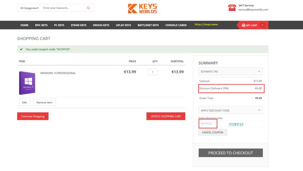 Économisez jusqu'à 35% de plus sur votre logiciel préféré sur Keysworlds.com !