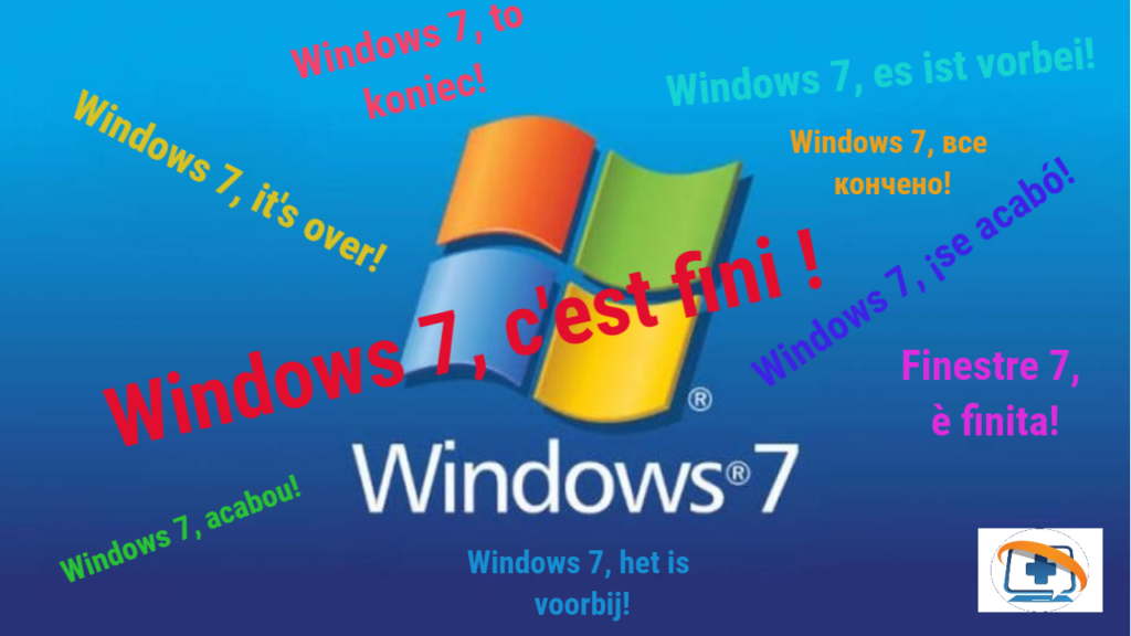 Windows 7 c'est fini !