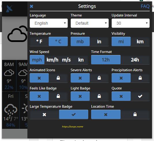 Ajouter une extension météo à son navigateur