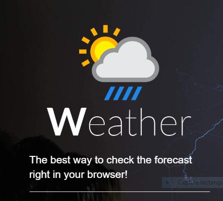 Ajouter une extension météo à votre navigateur