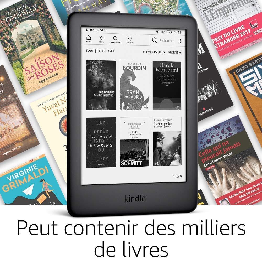 Kindle d'Amazon avec un éclairage frontal intégré en test sur www.sospc.name.