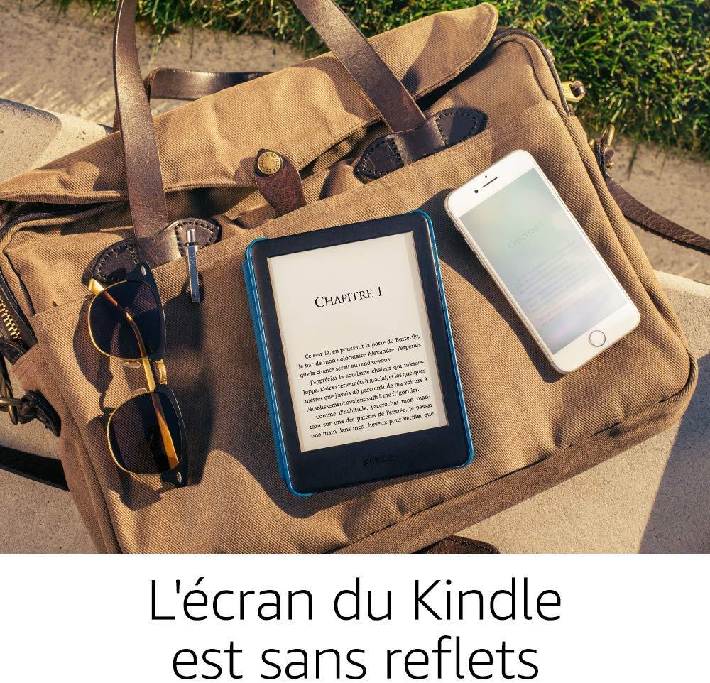 La Kindle d'Amazon avec un éclairage frontal intégré en test sur www.sospc.name.