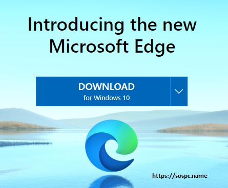 Télécharger Le nouveau navigateur Edge