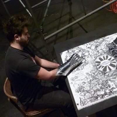 Le site de Nils Bertho, Artiste peintre : quand l'art nous interpelle.