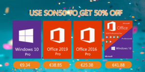 Méga bons plans : Windows 10 Pro @ 9.34€, Office 2019 Pro @ 38.85€ et bien d'autres !