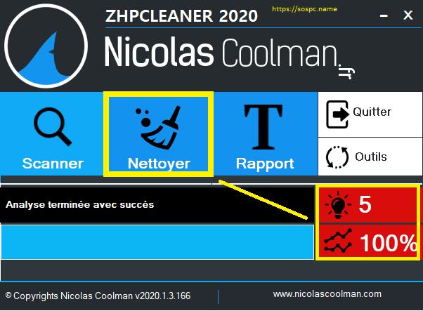 ZHPCleaner 2020 un nettoyeur toujours incontournable
