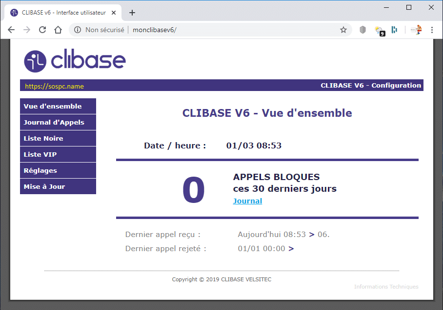 Dites adieu aux appels indésirables avec Clibase !