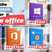 Difficile de travailler à distance ? Vous avez besoin de bons outils comme la Suite Office à 29.50€ et Windows 10 à 8,67€