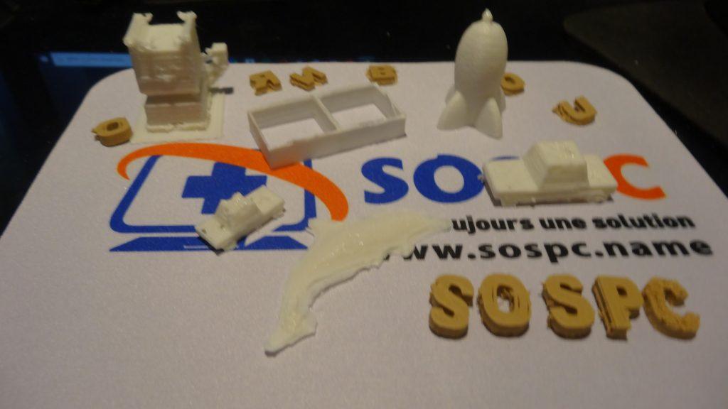 Test de l'imprimante portable 3D LABISTS
