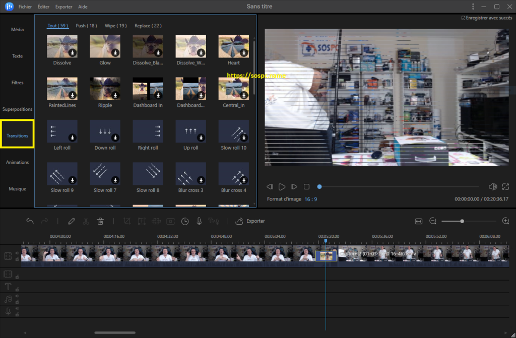 EaseUS Video Editor logiciel de montage
