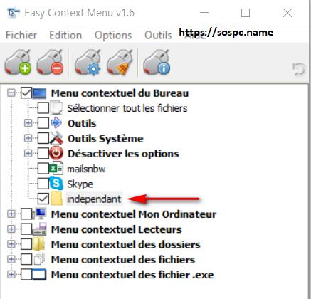 Personnaliser le menu de votre clic droit, tutoriel