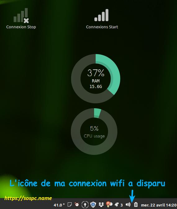 Désactiver ou réactiver la connexion internet sous Linux