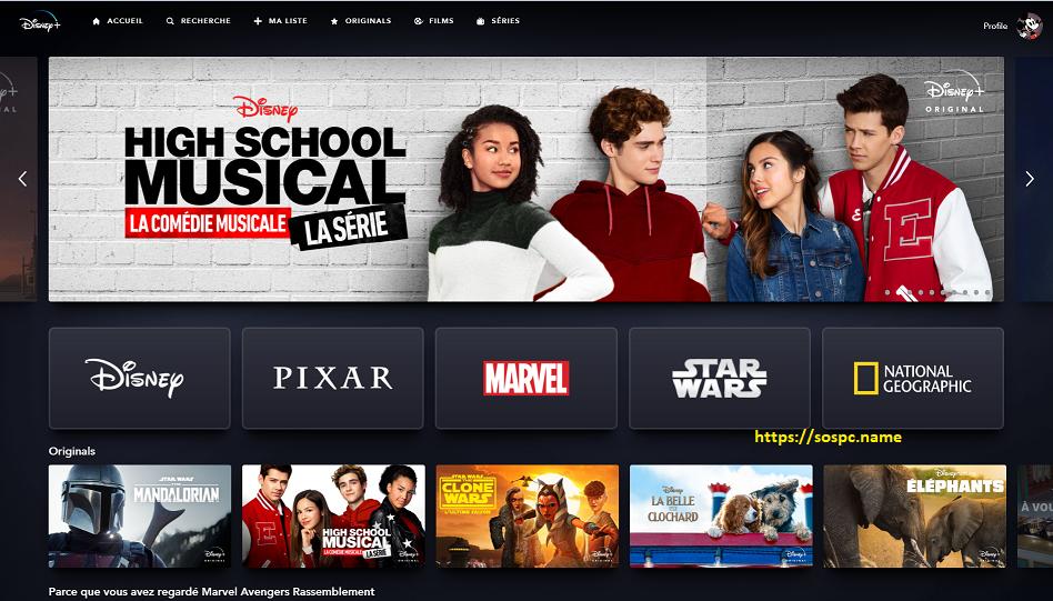 Disney+ est désormais disponible en France, Test et Avis