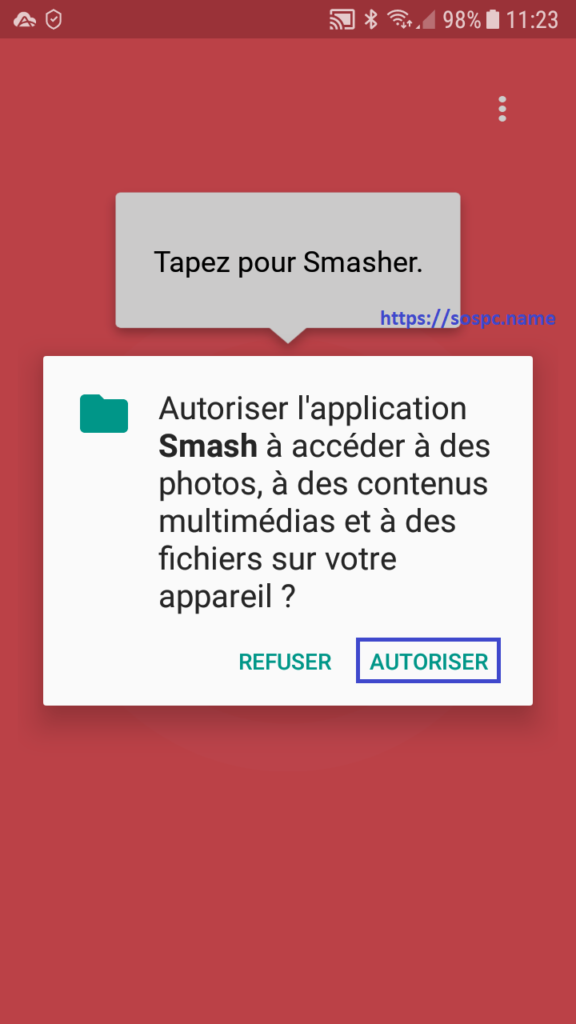 Smash lance ses apps Android et iOS