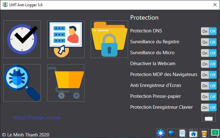 LMT Anti Logger logiciel de sécurité