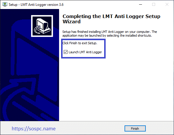 LMT Anti Logger, un logiciel de sécurité