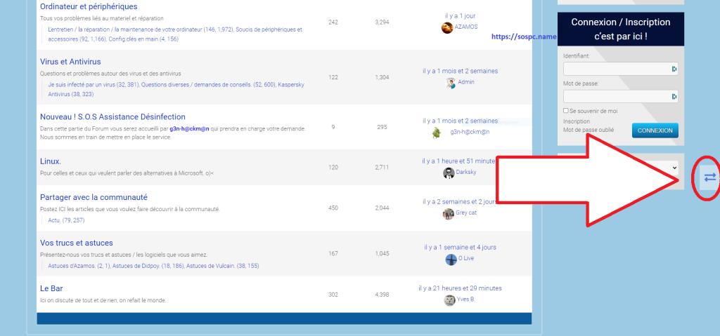 Le Forum d'Sospc.name a fait peau neuve !
