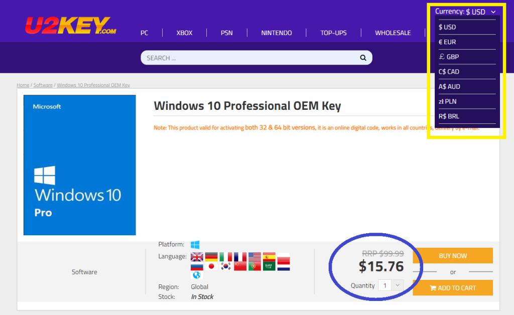 Les Promos de Juin sont arrivées : Windows 10 Pro à 8,43€ et Office 2016 Pro à 21,72 !