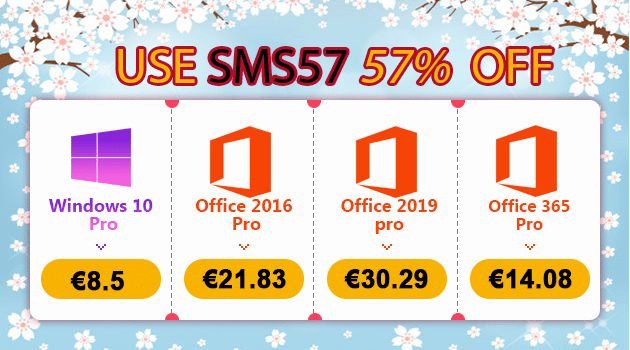 Mégas promos : Windows 10 Pro @ 8,50€, Office 2019 Pro @ 30,29€ !