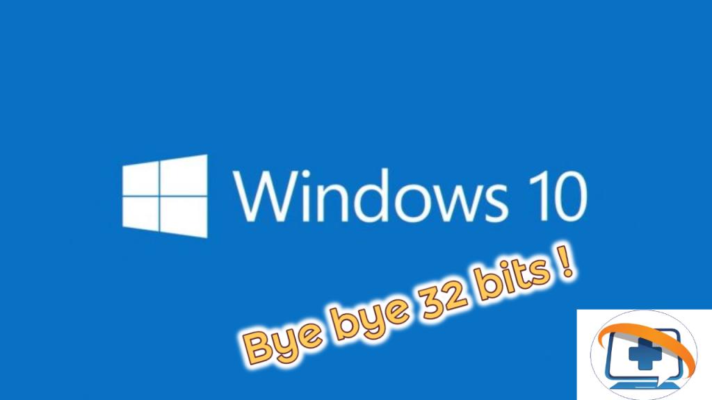 Microsoft va supprimer progressivement le support 32 bits à partir de Windows 10 2004