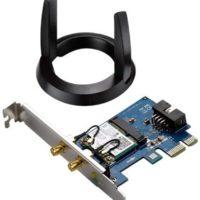 Montage d'une carte Wi-Fi PCI Express avec une base d'antenne externe, par Gotcha57