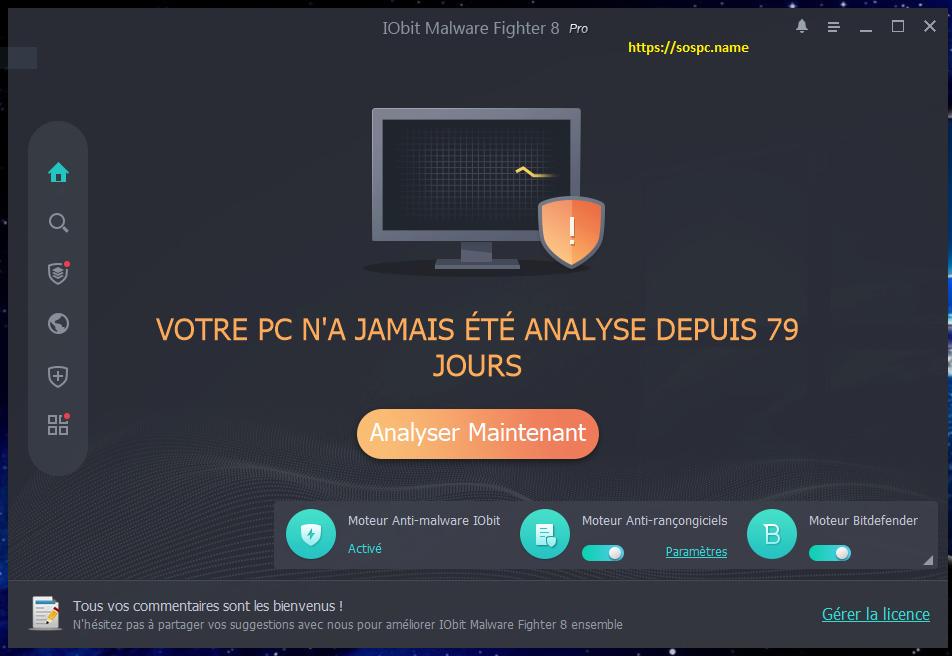 [Concours] 20 licences de IObit Malware Fighter Pro 8 à gagner !