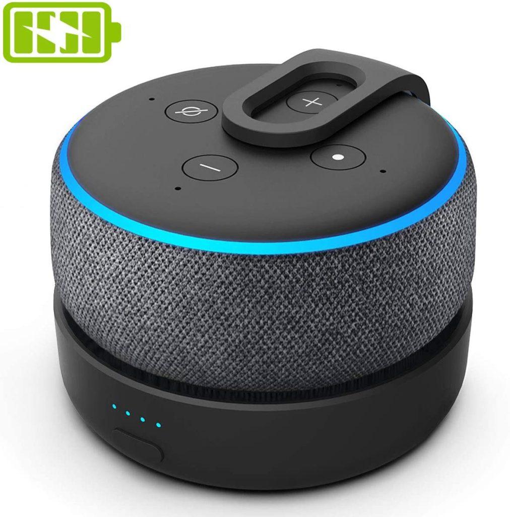 Une Batterie pour l'Amazon Echo Dot 3 Alexa en test !