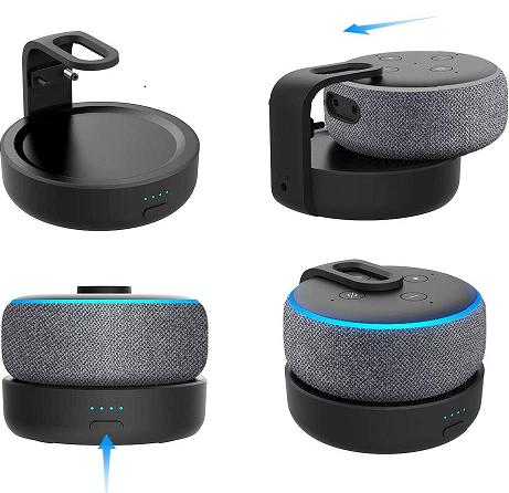 Batterie pour l'Amazon Echo Dot 3 Alexa