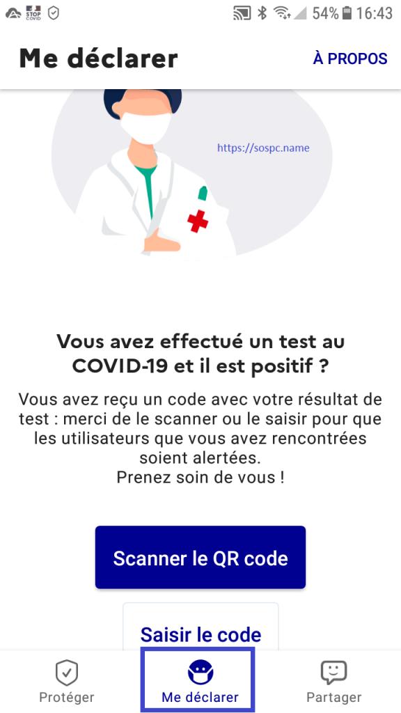 installer StopCovid France