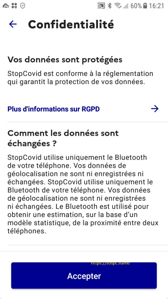 Comment l'installer StopCovid France
