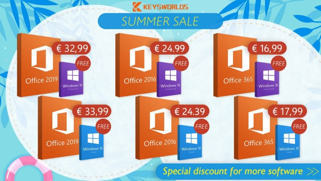 Promotions d'été : Obtenez Windows 10 totalement gratuitement !
