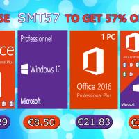 Promotions estivales Windows 10 Pro @ 8,50€, Office 2019 Pro @ 30,29€ !
