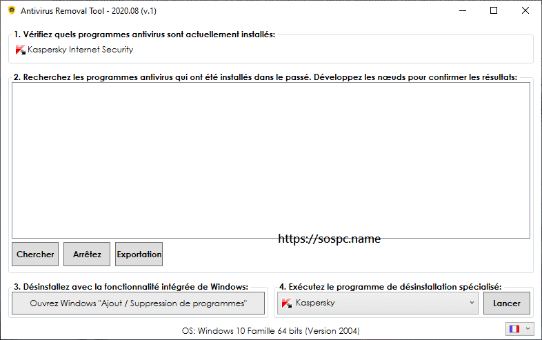 Antivirus Removal Tool,